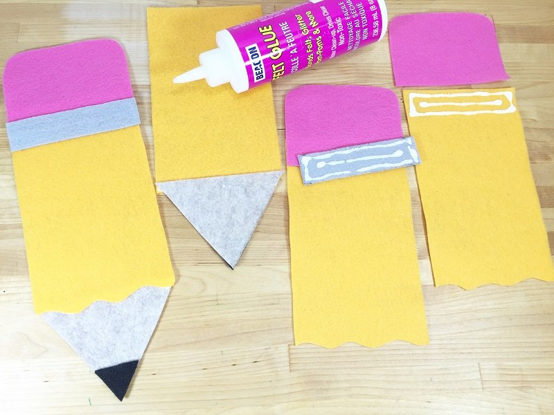 Assemble a Back to School Pencil Banner with Creatively Beth