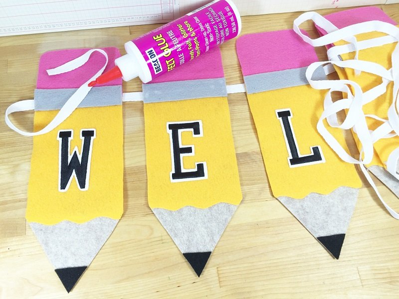 Create a Back to School Pencil Banner with Creatively Beth