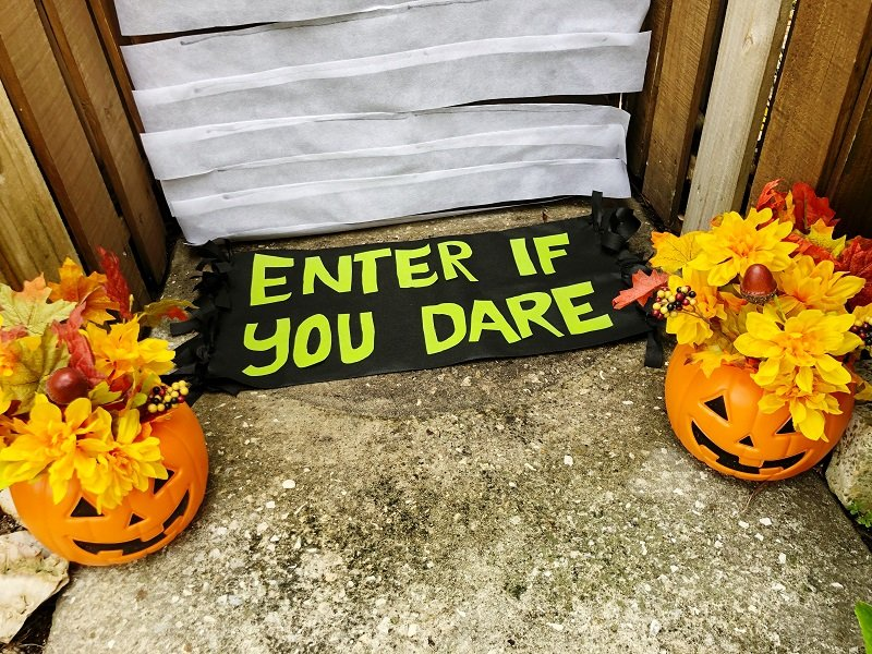 Creatively Beth Halloween Doormat with Oly*Fun