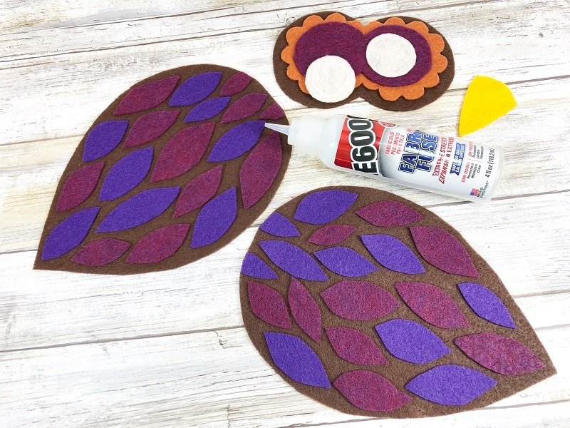Creatively Beth Fabri Fuse Glue is perfect for attaching Kunin Felt