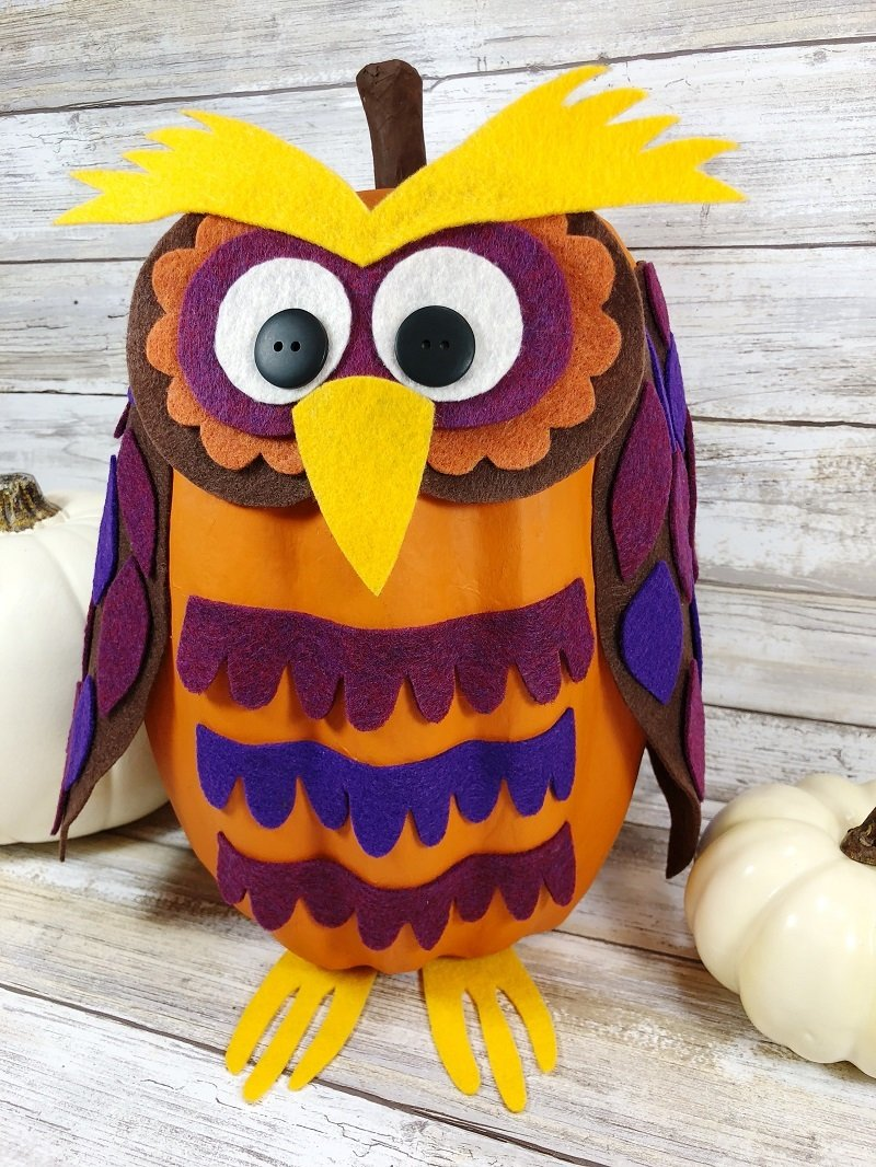 Creatively Beth Halloween Pumpkin DIY