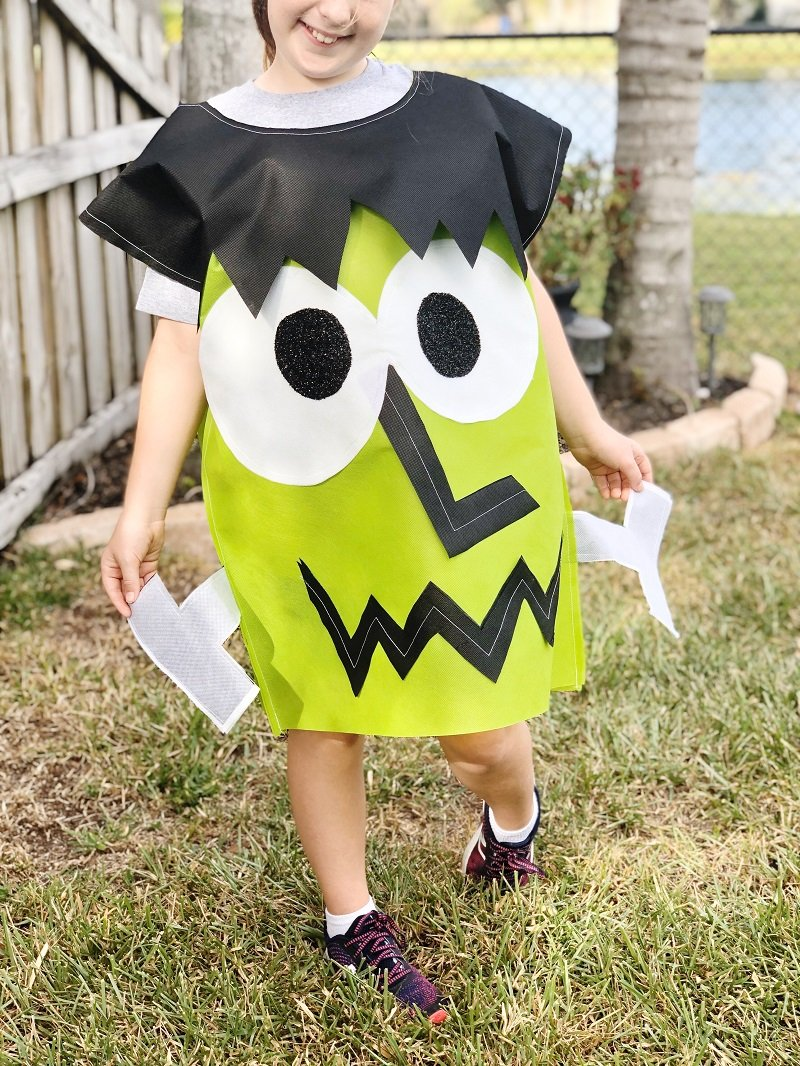 Creatively Beth Frankenstein Kids Costume with Oly*Fun