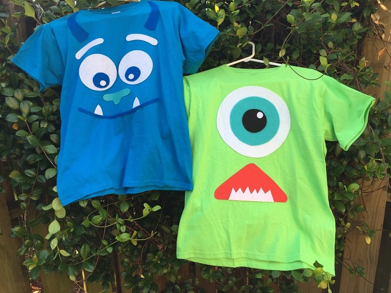 Qick and Easy Monsters Inc Halloween Costumes by Creatively Beth
