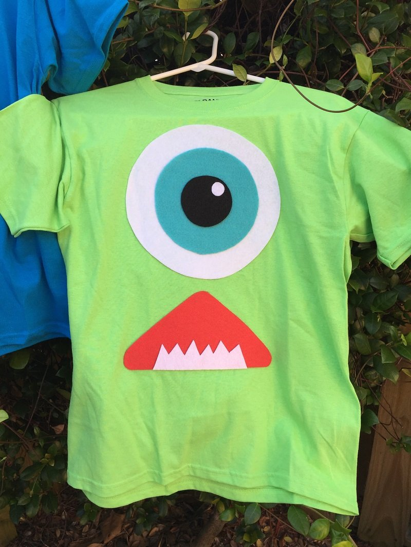 Monsters Inc Halloween Costume Mike Wazowski