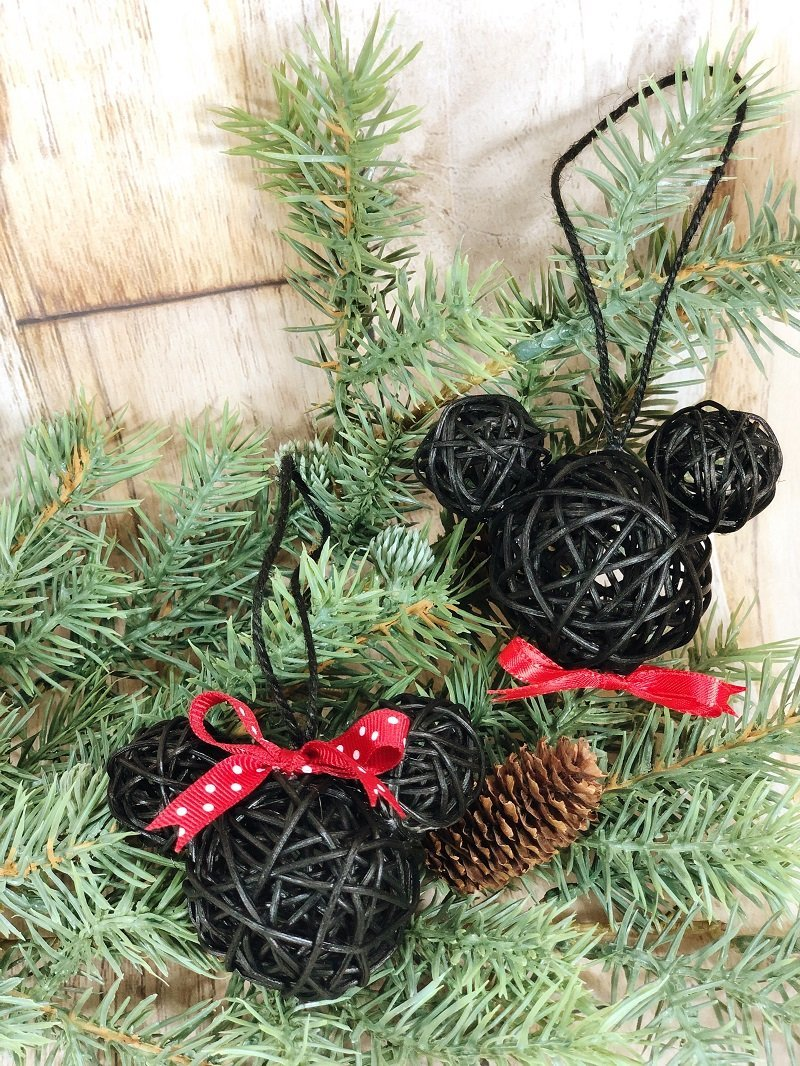 Mickey And Minnie Dollar Tree Ornaments Creatively Beth