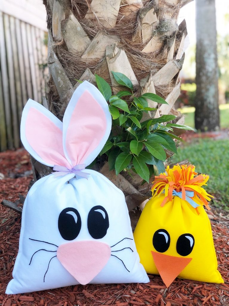 How to Create a Playful Bean Bag Bunny and Chick Creatively Beth #creativelybeth #fairfieldworld #eastercrafts #bunny #chick