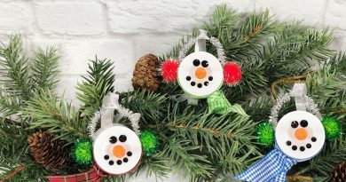 Dollar Tree Snowman Votive Creatively Beth #creativelybeth #dollartreecrafts #christmas #ornaments