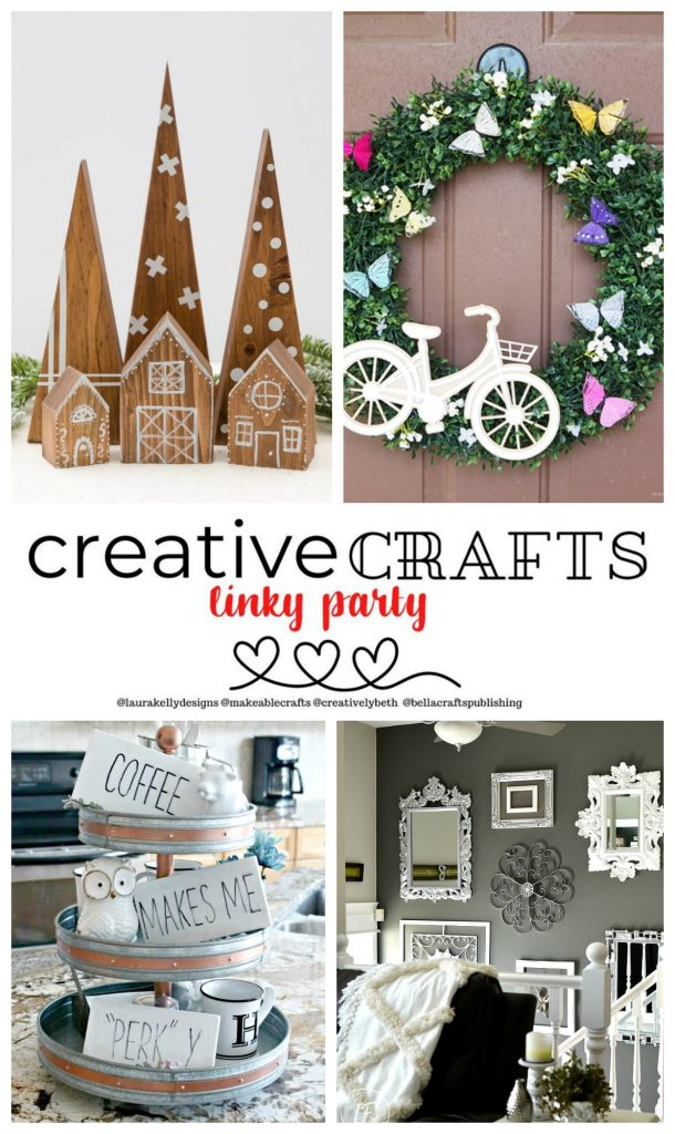 Creative Crafts Linky Party #2 Features Makeable Crafts Me and My Inklings Creatively Beth #creativecrafts