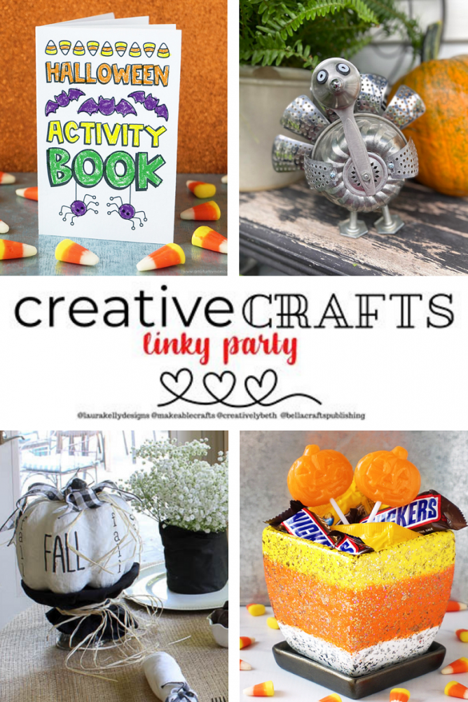 Creative Crafts Linky Party #6 Featured Projects by Bluesky at Home, Wisconsin Magpie, Artsy-Fartsy Mama #Creativelybeth #creativecrafts #linkyparty