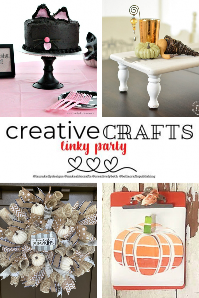 Creative Crafts Linky Party #9 Join in the FUN! #CreativelyBeth #CreativeCrafts #LinkyParty