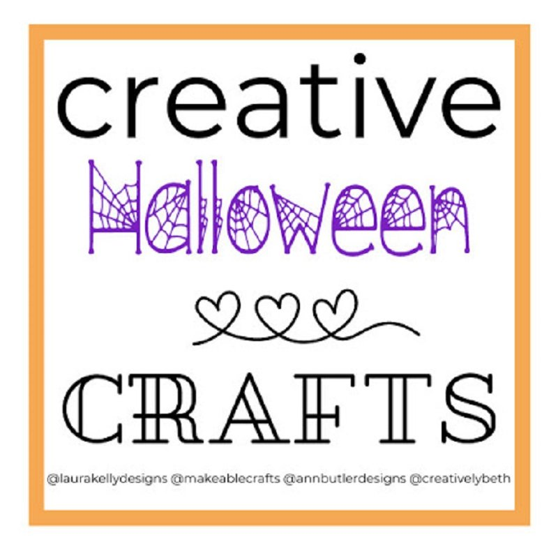 Creative Crafts Halloween Edition with Creatively Beth Bella Crafts Publishing Makeable Crafts and Laura Kelly Designs #creativecrafts #creativelybeth