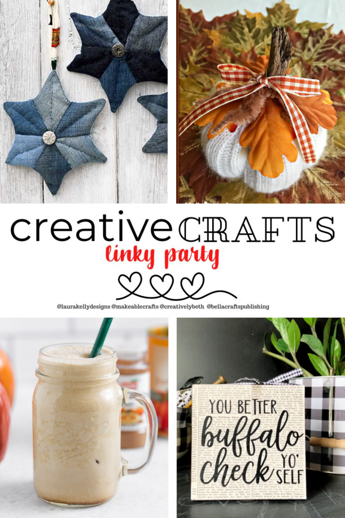 Creative Crafts Linky Party #14 Features Makeable Crafts Me and My Inklings Creatively Beth #creativecrafts