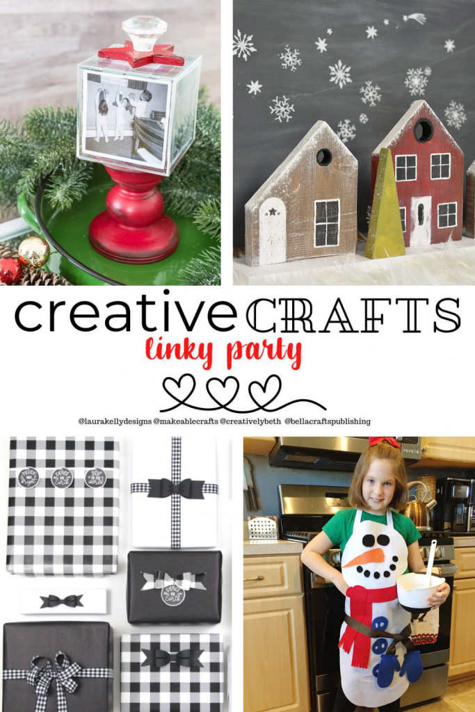 Creative Crafts Linky Party #19 Join in the FUN!  With Creatively Beth, Bella Crafts Publishing, Laura Kelly Designs and Makeable Crafts #creativelybeth #creativecrafts