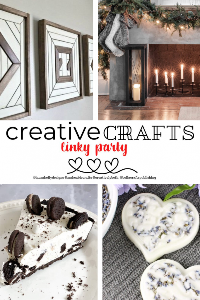 Creative Crafts Linky Party #23 Join in the FUN! With Creatively Beth Laura Kelly Designs Bella Crafts Publishing Makeable Crafts #creativelybeth #linkyparty #Crafts #recipes #DIY