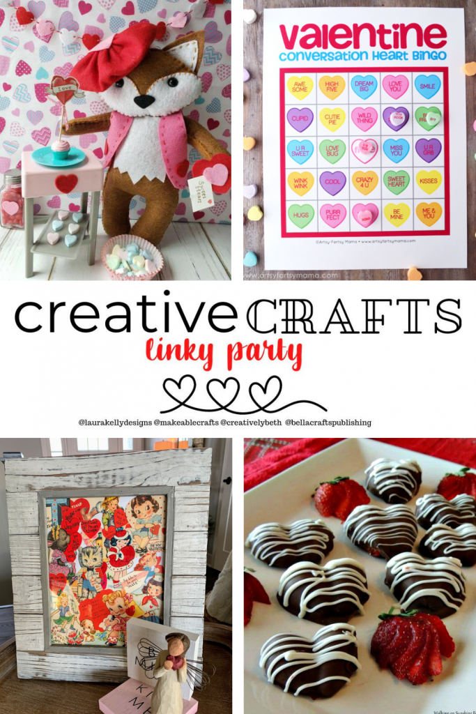 Creative Crafts Linky Party #27 Join in the FUN with Laura, Ann, Meg and Beth!