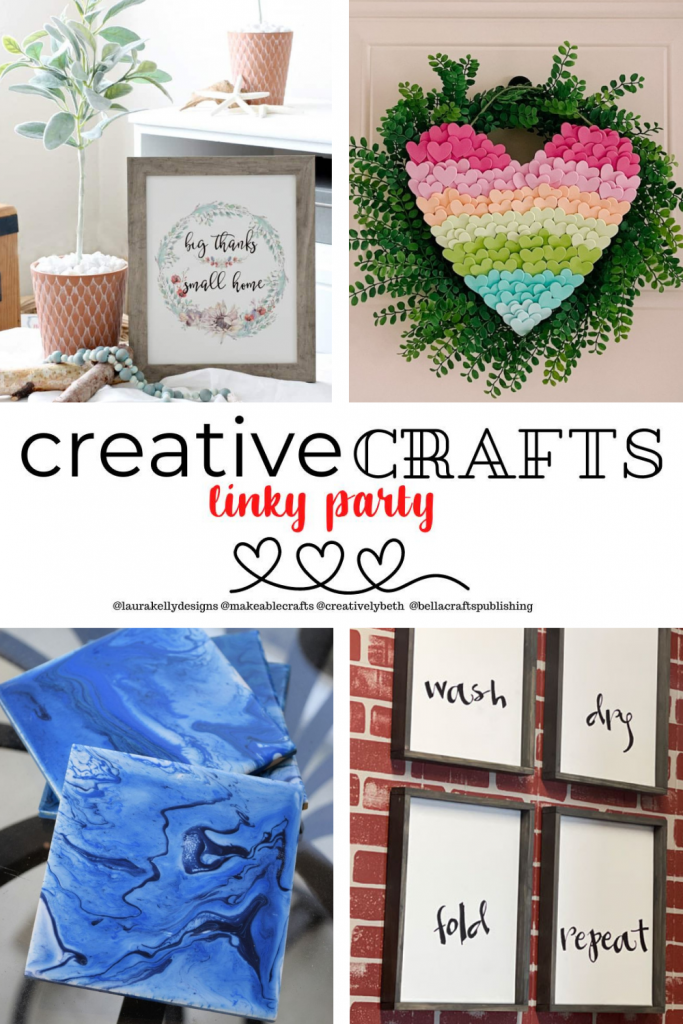 Creative Crafts Linky Party #29 Join in the FUN! With Creatively Beth Laura Kelly Designs Bella Crafts Publishing Makeable Crafts Linky Party #creativelybeth #teamcreativecrafts #linkyparty