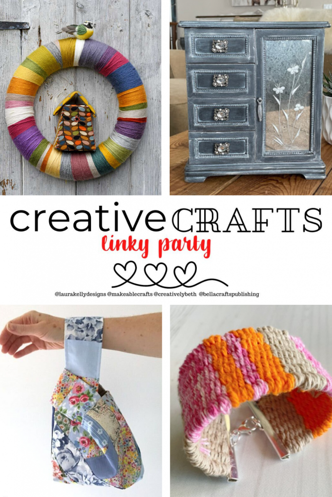 What are YOU up to this week? I'd love for you to scroll down and share your latest and greatest with us. The Creative Crafts Linky Party #30 is here and we are super excited to start the party with YOU!
