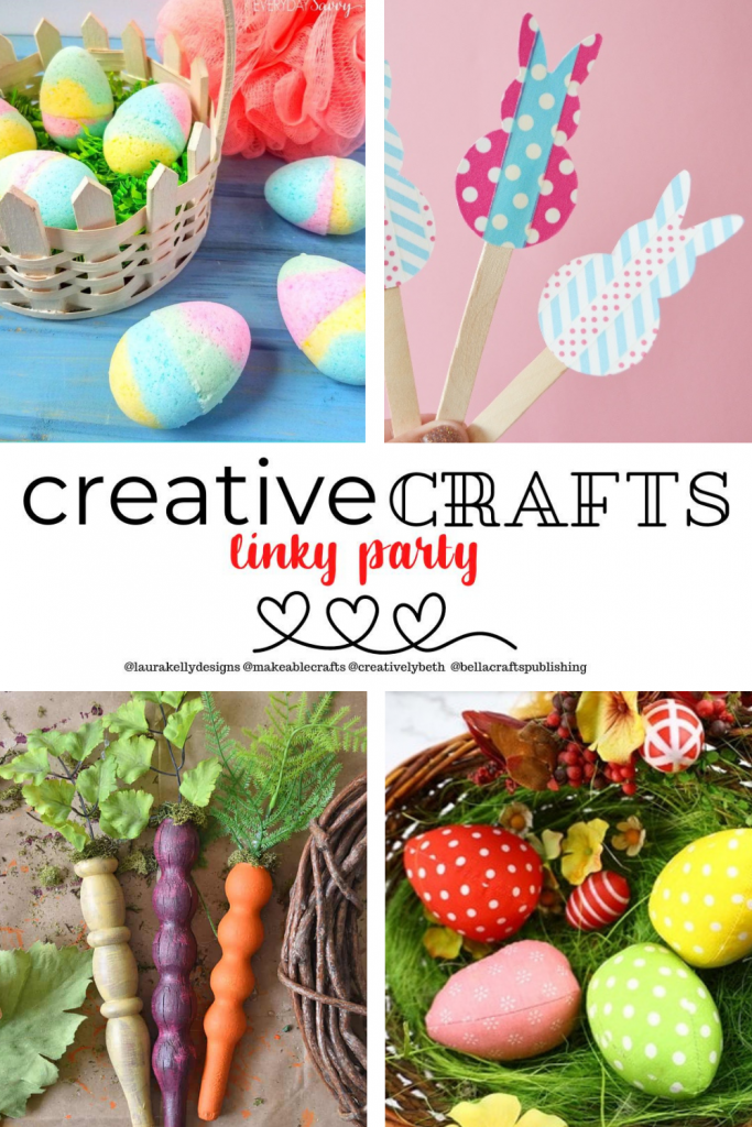Creative Crafts Linky Party #32 Join in the FUN with Creatively Beth #creativelybeth #teamcreativecrafts #bestcreativecrafts #linkyparty