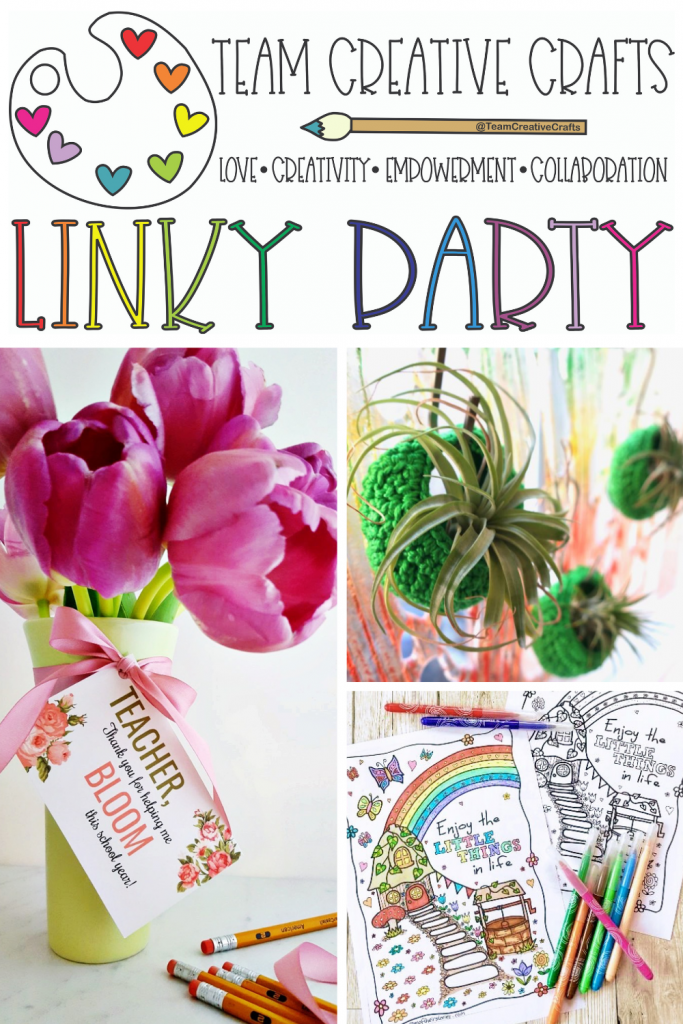 Team Creative Crafts Liny Party #38 Creatively Beth Bella Crafts Publishing Laura Kelly Designs #teamcreativecrafts
