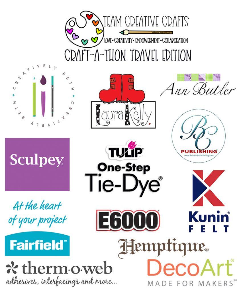 Team Creative Crafts Craft-A-Thon Travel Edition #teamcreativecrafts #craftathon #creativelybeth #laurakellydesigns #bellacraftspublishing