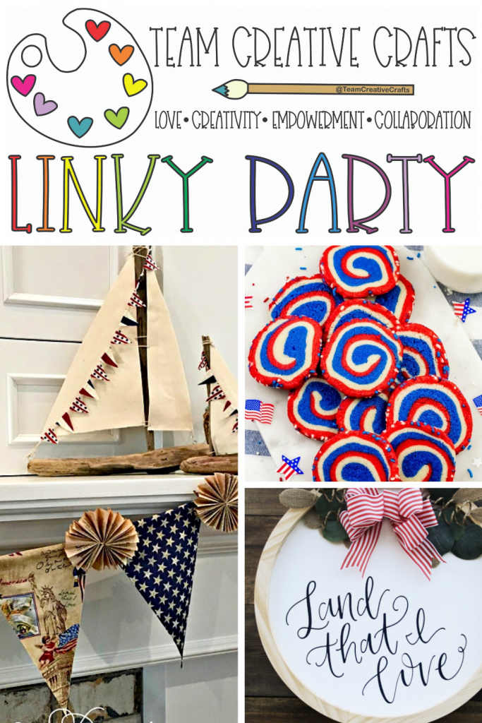 Creative Crafts Linky Party #43 Join in the FUN with Creatively Beth Laura Kelly Designs and Bella Crafts Publishing #Teamcreativecrafts #creativelybeth #linkyparty