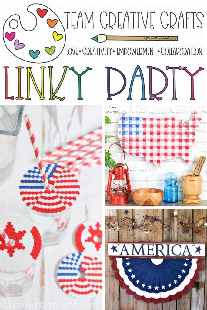 Creative Crafts Linky Party #44 Join in the FUN!  With Creatively Beth, Laura Kelly Designs and Bella Crafts Publishing #bestcreativecrafts #creativelybeth #creativecraftslinkyparty
