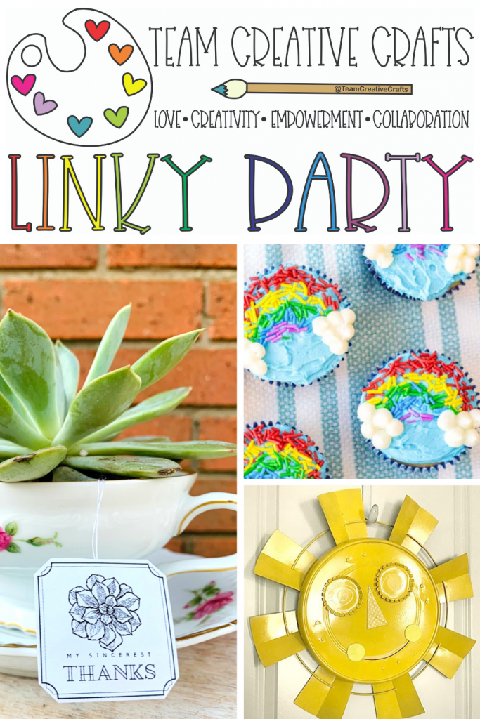 Creative Crafts Linky Party #47 Join in the FUN with Creatively Beth, Laura Kelly Designs and Bella Crafts Publishing #creativelybeth #teamcreativecrafts #linkyparty #DIY #crafts #recipes