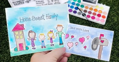 Easy Watercolor Stamped Cards with Creatively Beth #creativelybeth #watercolor #laurakellydesigns #stampedcards #thermoweb