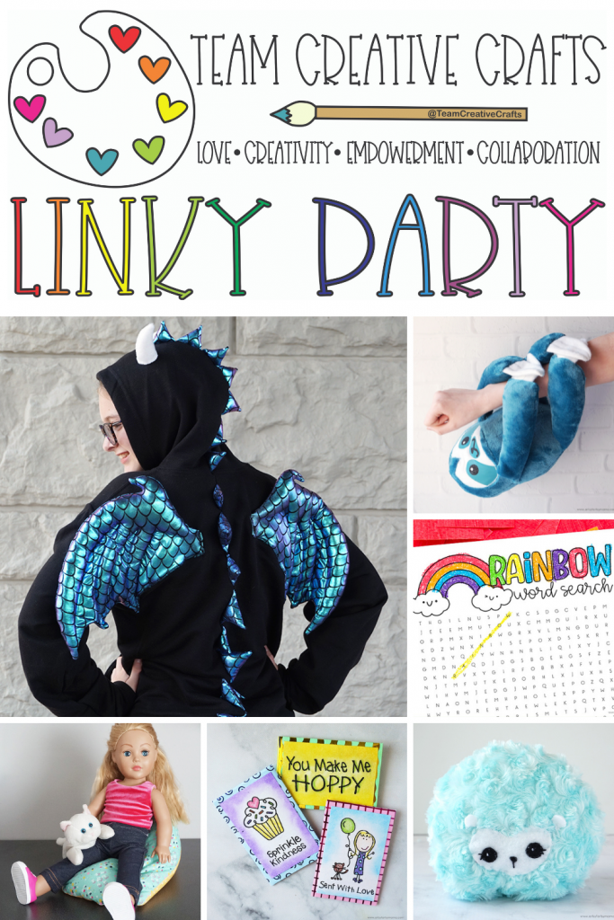 Creative Crafts Linky Party #55 join in the FUN! Creatively Beth #creativelybeth #teamcreativecrafts #linkyparty