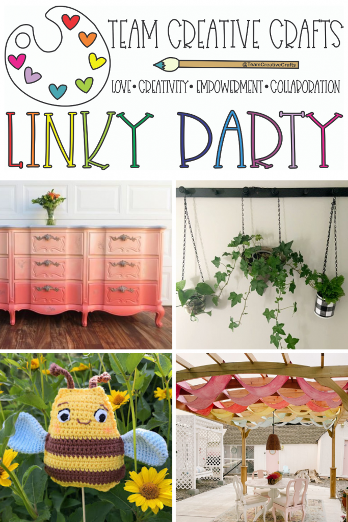 Creative Crafts Linky Party #57 Join in the FUN! #teamcreativecrafts #creativelybeth #laurakellydesigns #bellacraftspublishing #linkyparty