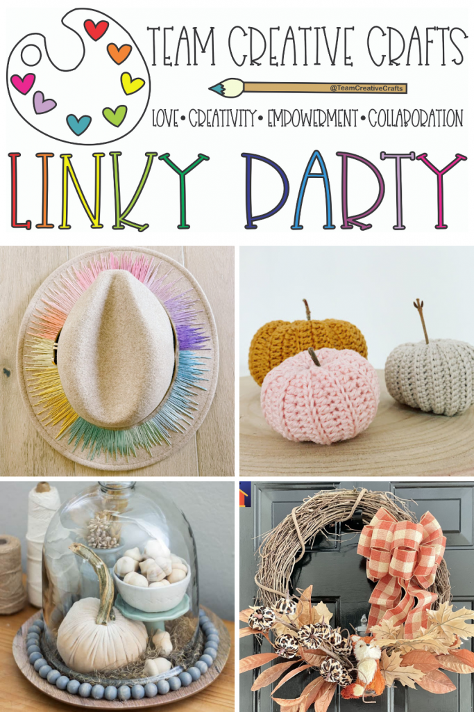 Creative Crafts Linky Party #58 Join in the FUN with Creatively Beth #teamcreativecrafts #bestcreativecrafts #linkyparty #creativelybeth #laurakellydesigns #artsyfartsymama #bellcraftspublishing